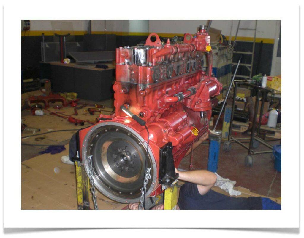 Reparación Motor Cummins Selecon